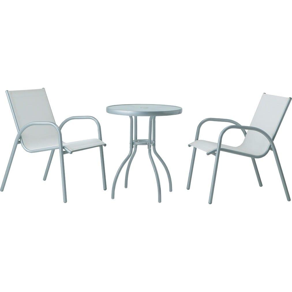 フレスコテーブルセット ホワイト /梱包サイズ大 | 株式会社タカショー ホームユース
